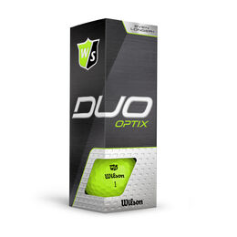 DUO Optix Green Golf Balls