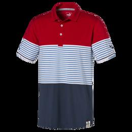 Cloudspun Taylor Stripe Golf Polo