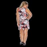 Alternate View 4 of Summer Sensation Collection: Robbie Leaf Print Pleated Hem Dress