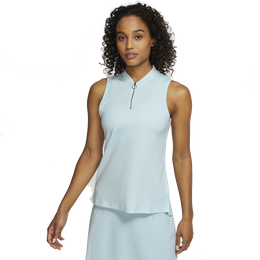 Dri-FIT Women's Fairway Zip Sleeveless Golf Polo