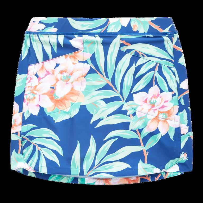 Girls Floral Print Skort