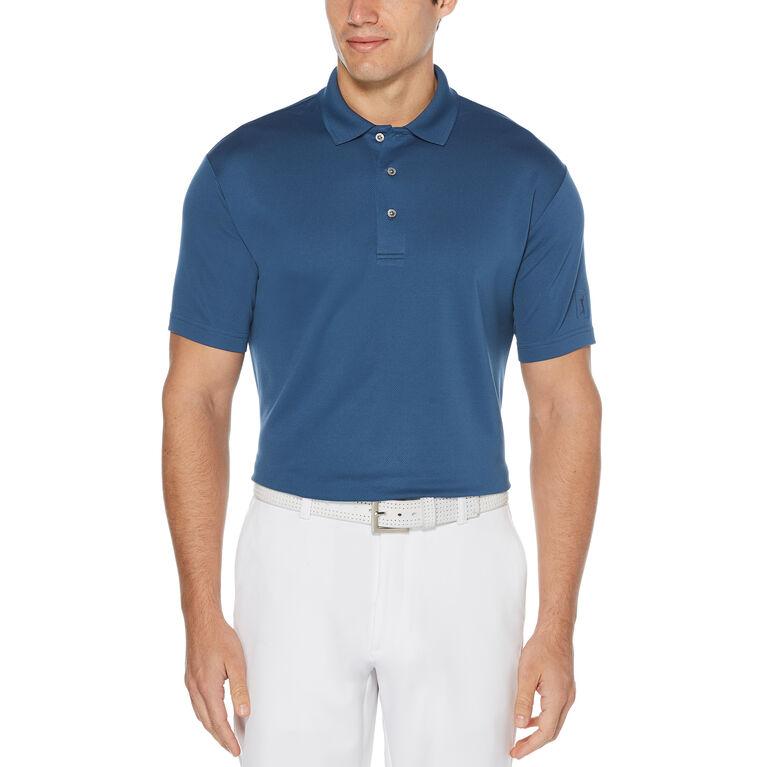 Airflux Solid Mesh Short Sleeve Polo Golf Shirt