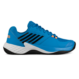 Aero Court Men's Tennis Shoe - Blue/Orange