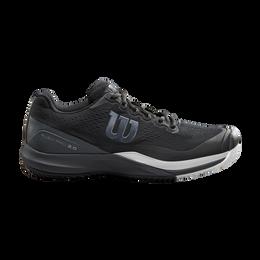 Rush Pro 3.0 Men's Tennis Shoe - Black/White