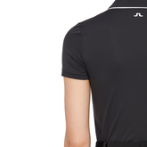 Alternate View 5 of Black and Blue Collection: Flor Trim Short Sleeve Polo