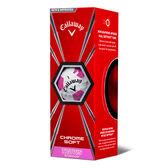Alternate View 1 of Callaway Chrome Soft Truvis Pink Golf Balls (Prior Generation)