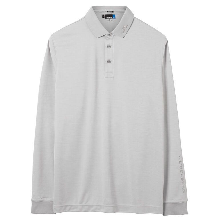 J Lindeberg Tour Tech Long Sleeve Reg TX Jersey Polo
