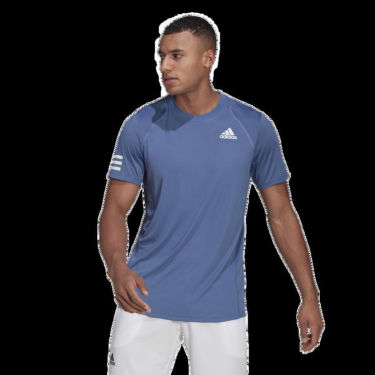 Club 3-Stripe Men's Tennis T-Shirt