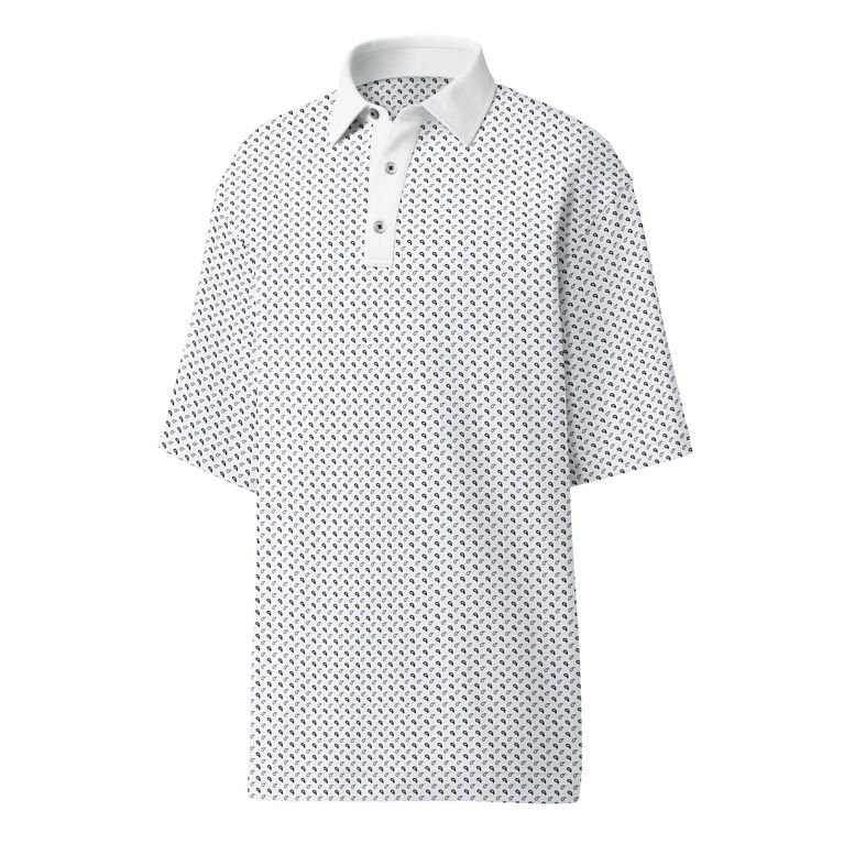 Lisle Mini Paisley Polo
