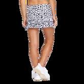 "Alternate View 2 of Alaina Leopard Print 13.5""  Skort"