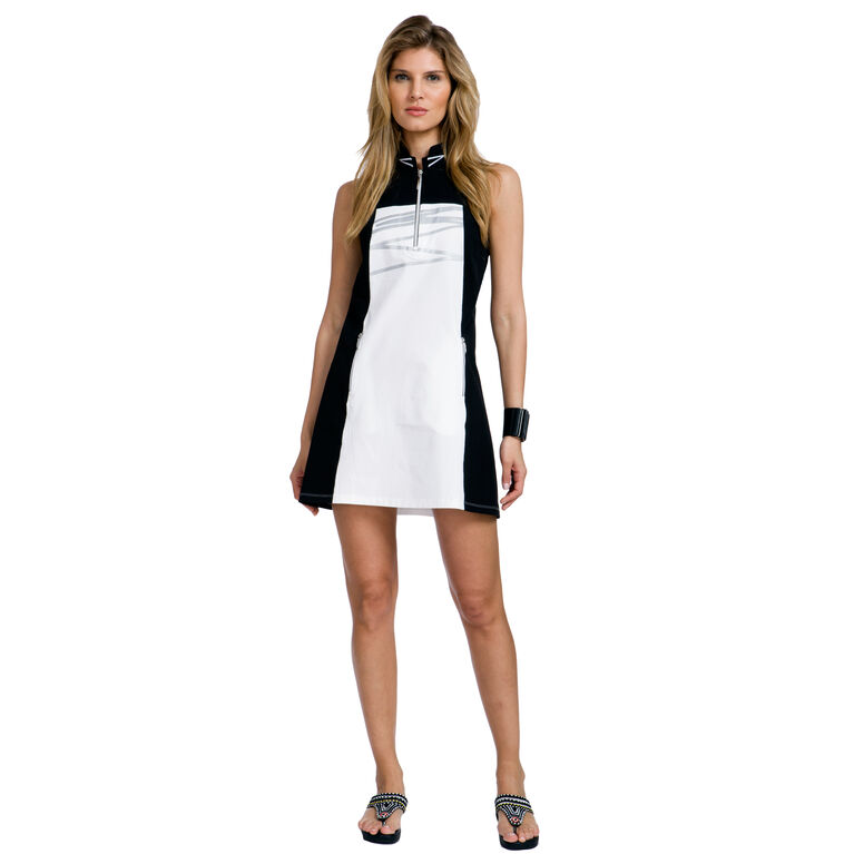 Ultra Group: Sleeveless Colorblock Dress