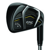 Callaway Epic Star Irons 5-PW, AW w/ Graphite Shafts