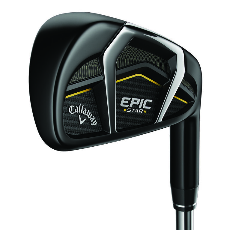 Callaway Epic Star Women's Irons 6-PW, SW w/ Graphite Shafts