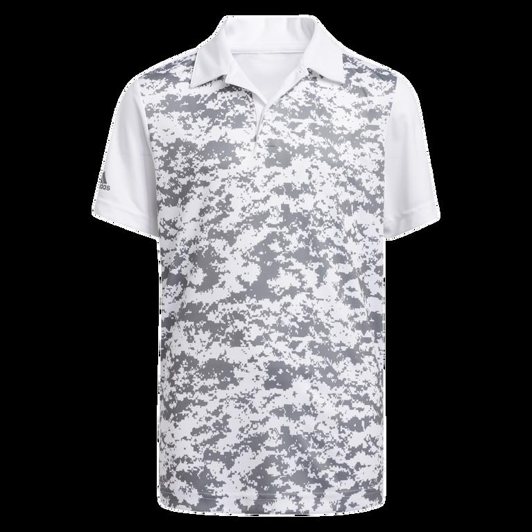 Boy's Digital Camouflage Polo Shirt