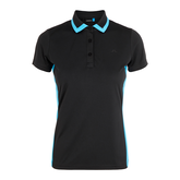 Alternate View 2 of Black and Blue Collection: Poppy Tipped Collar Polo
