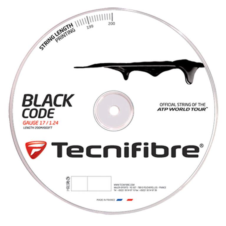 Tecnifibre Black Code 17 Gauge String Reel - Black