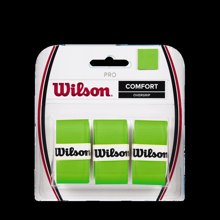Wilson Pro Overgrip 3 Pack - Green