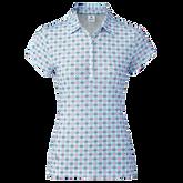 Sue Breeze Short Sleeve Printed Polo Shirt