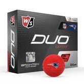 DUO Optix NFL Golf Balls - New England Patriots