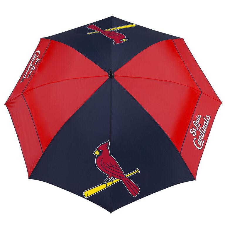 """Team Effort St. Louis Cardinals 62"""" Windsheer Lite Umbrella"""