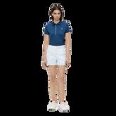 Alternate View 1 of Mona Short Sleeve Side Print Polo Shirt