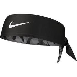 DRI-FIT Camo Reversible Head Tie 2.0 - Black/Grey