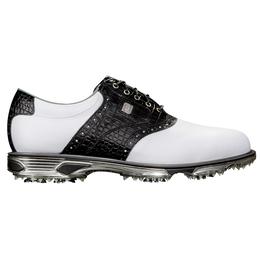DryJoys Tour Men's Golf Shoe - White/Black