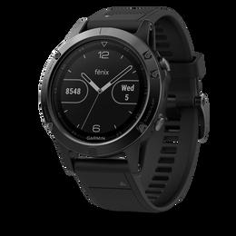 Garmin fenix 5 Black Sapphire GPS Watch