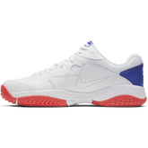 Alternate View 3 of NikeCourt Lite 2 Men's Hard Court Tennis Shoe - White/Royal