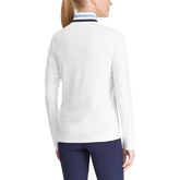 1/4 Zip Long Sleeve Knit Pullover