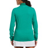 Alternate View 1 of Long Sleeve Gathered Full Zip Jacket