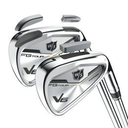 Wilson Staff FG Tour V6 Irons 4-PW,GW w/Steel Shafts