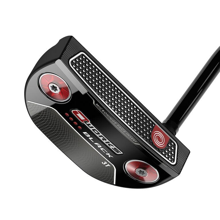 Odyssey O-Works Black #3T Putter w/ Winn Red Grip