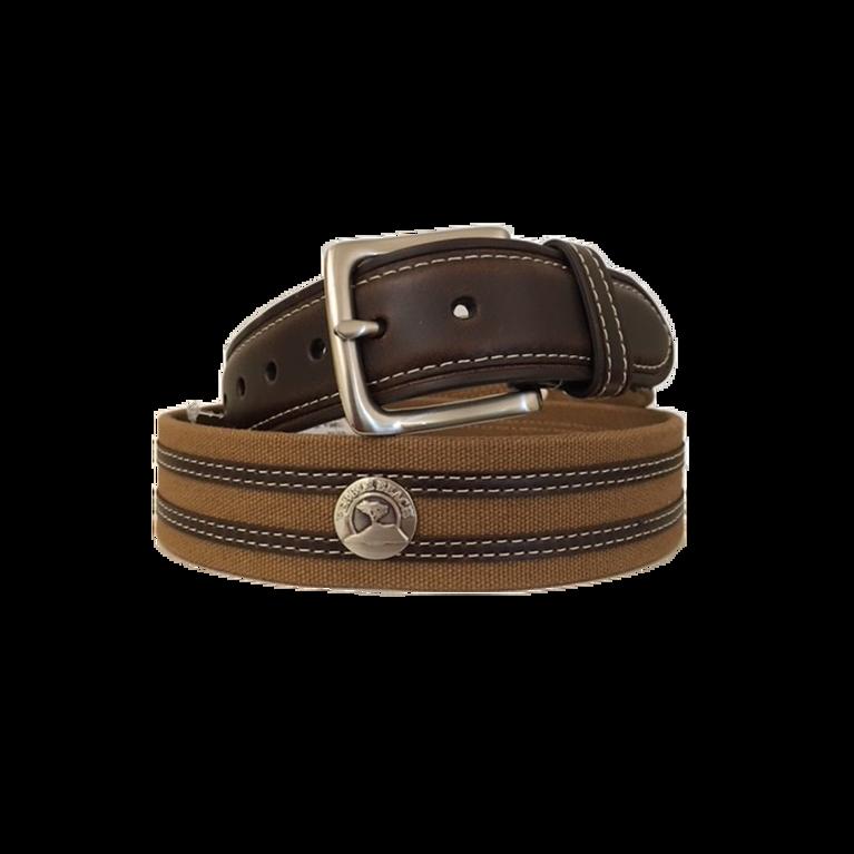 F19 PB: Leather/Canvas Concho