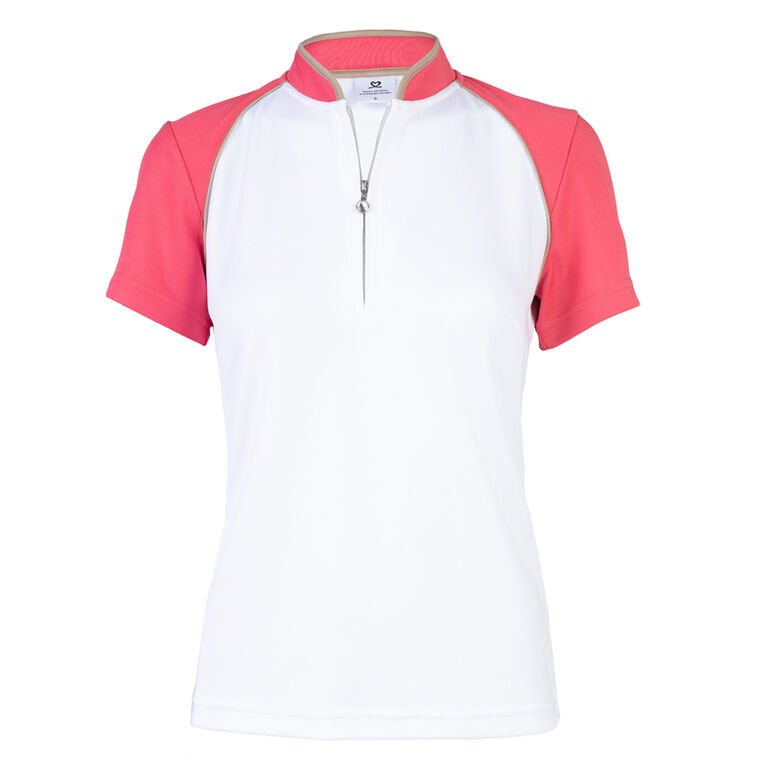 Coral Group: Megan Watermelon Polo Shirt