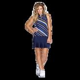 Aspen Rays Collection: Francie Diagonal Stripe Sleeveless Top