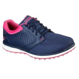 GO GOLF Elite V.3 Grand Women's Golf Shoe - Navy/Pink
