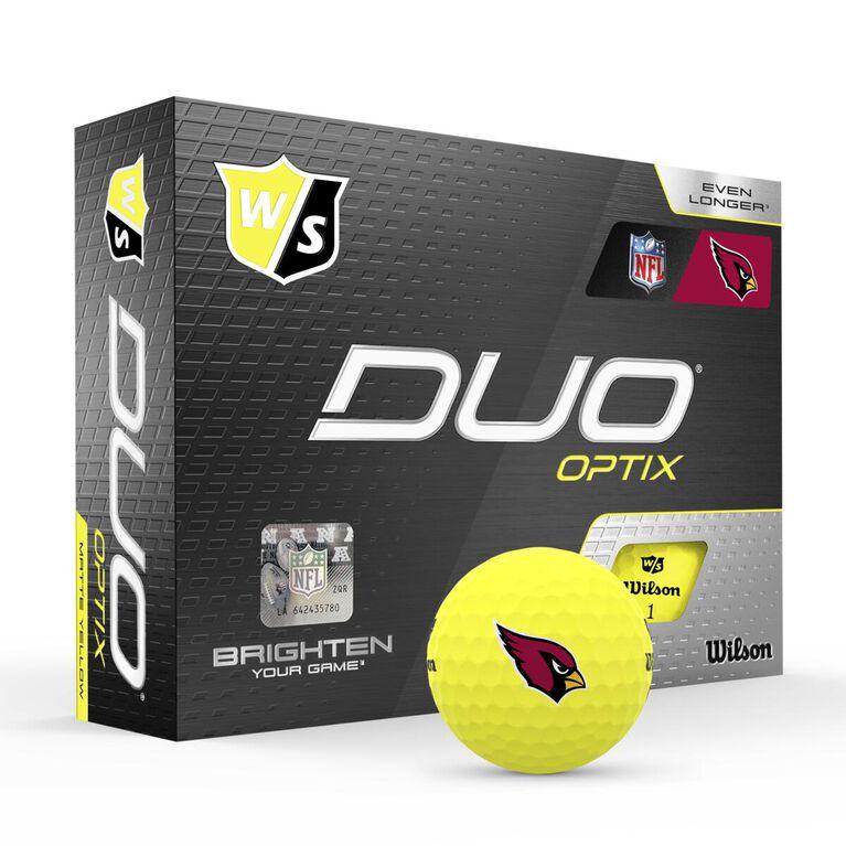 DUO Optix NFL Golf Balls - Arizona Cardinals