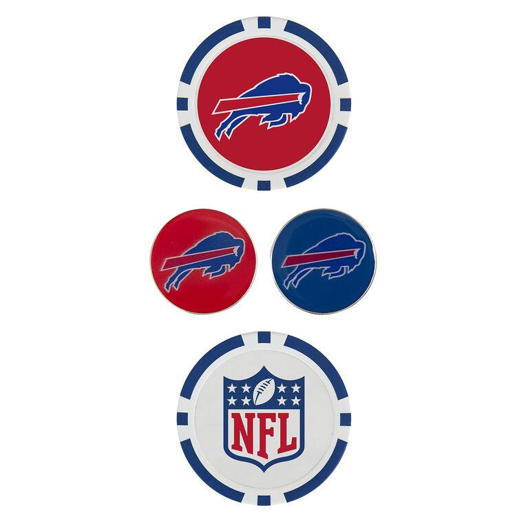 Team Effort Buffalo Bills Ball Marker Set