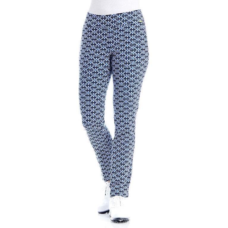 Swing Control Retro Blue Backspin Slim Pant