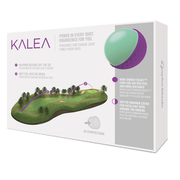 Kalea Purple Golf Balls