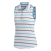 Alternate View 8 of Minted Blues Collection: Ultimate Stripe Sleeveless Polo Shirt