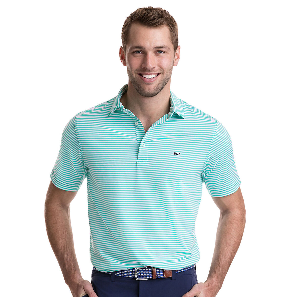 Images. Vineyard Vines Winstead Stripe Sankaty Performance Polo 8dc9e0b22672