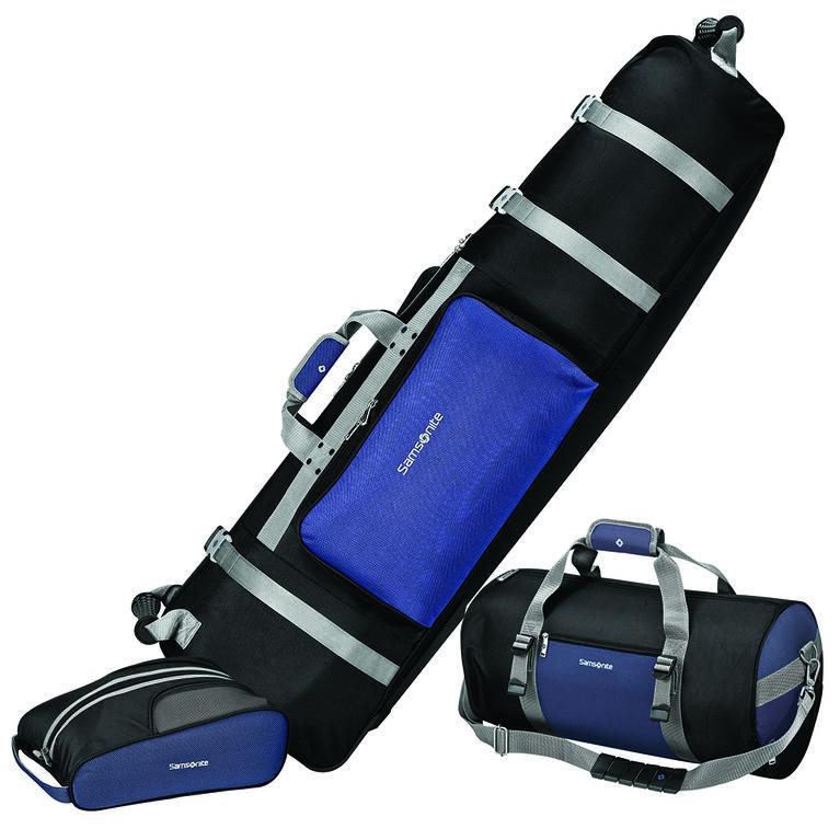 Samsonite 3 Piece Set (Cover, Shoe Bag, Equipment Duffel)