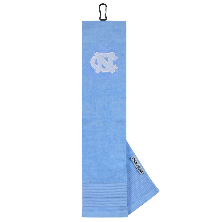 Team Effort North Carolina Tarheels Tri-Fold Towel