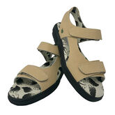 Alternate View 2 of Two-Strap Spikeless Women's Golf Sandal - Beige