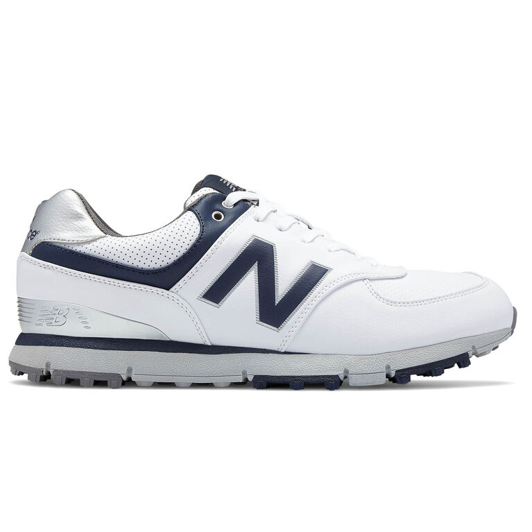 574 SL Men's Golf Shoe - White/Navy