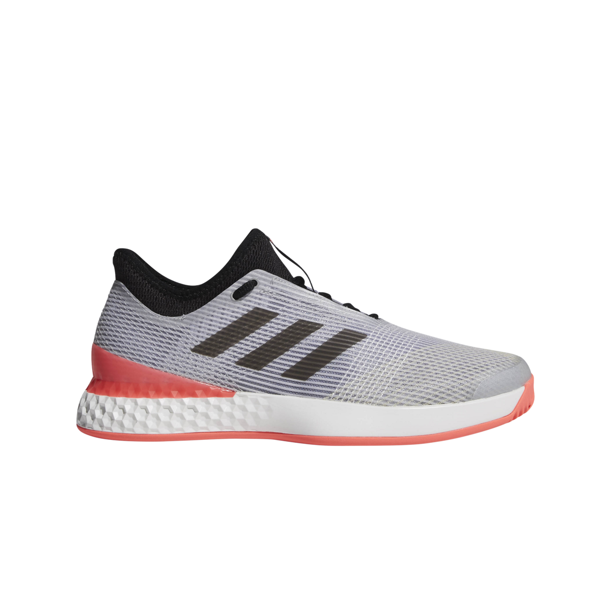 adidas adizero Ubersonic 3.0 Men s Tennis Shoe - Grey Red dc18d1607