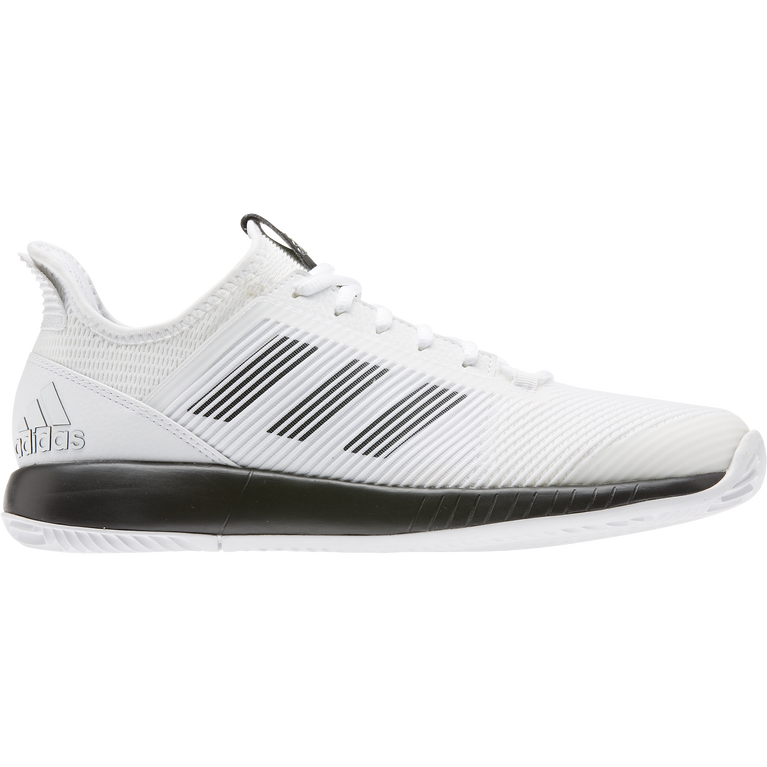 Adizero Defiant Bounce 2 Women's Tennis Shoes - White/Black