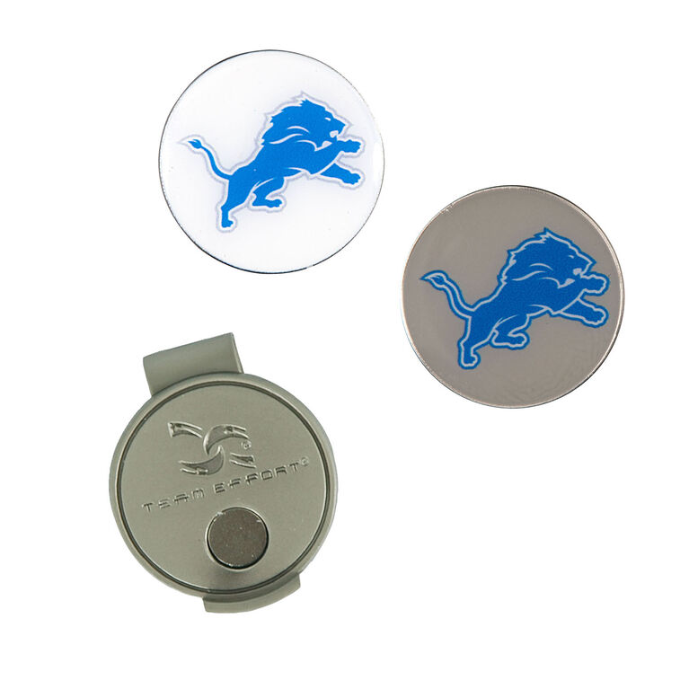 Team Effort Detroit Lions Hat Clip & Ball Marker